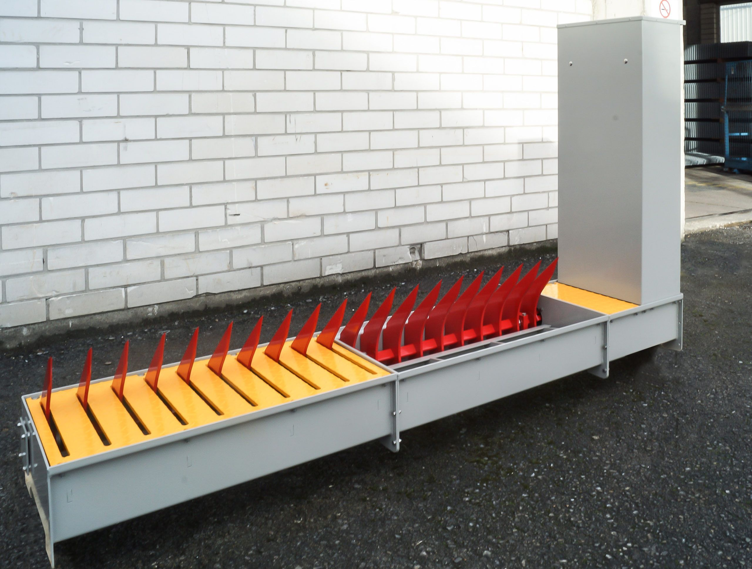 Tyre killers shallow installation depth which makes it particularly suitable for locations with limited available depth due to underground utilities