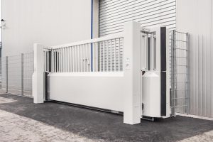 Tracked gate M50 -design-with-unrivalled-reliability-and-high-speed-opening-and-closing-times-that-are-impossible-to-achieve-with-other-drive-principles