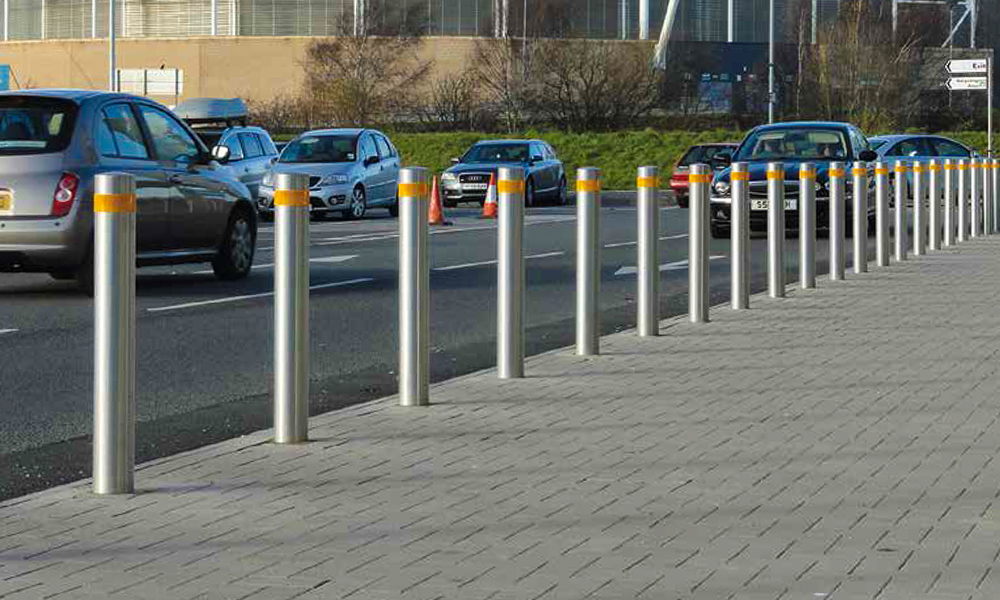 Street furniture Carstooper is and ideal solution for securing of highly frequented ares such as car parks or shopping centres